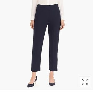 J.Crew crepe pull on easy pants size 6 🍃